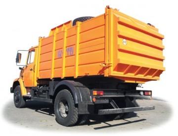 Обзор популярных мусоровозов на базе автомобилей ЗИЛ: характеристики, особенности, устройство